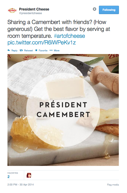 Camembert Tweet 1